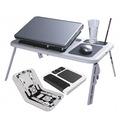 Mesa Para Notebook O Netbook Con Patas Y Ventilador E-table