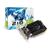 Msi Tarjeta De Video N210 1gb Ddr3 - Techbox