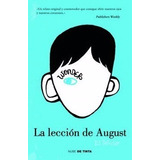 Libro La Leccion De August Wonder 1  -envio Gratis / Diverti