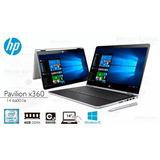 Notebook Hp 14-ba001 Pavilion X360 Core I3 4gb 500gb