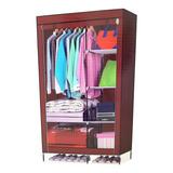 Closet Ropero Armable Armario Transportable Tela Jayma