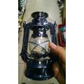 Lampara A Kerosen Dos Colores 24 X 11 Cm+mecha+regulador