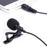 Micrófono Lavalier Solapa Clip Graba En Celular-eshopviña