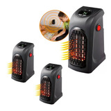 X3 Calefactor Portátil Handy Hearte 400w + Adaptador Ml0758