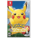Pokemon Let's Go, Pikachu - Juego Físico Switch - Sniper