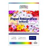 Papel Foto Glossy Brillante Nobucolor A3+ 180 Gr. 100 Hojas