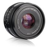 Lente 50mm F1.8 | 7artisans | Para Sony Montura E | Manual.