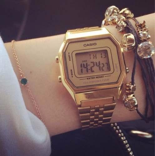 8a39f5e2b193 Reloj Retro Casio Dorado La680 Gold Mujer (Casio) a CLP 34000 en ...