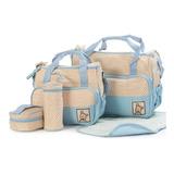 Bolso Maternal 5 Piezas, 5 Colores Disponibles
