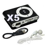 5 Reproductor Mp3 Radio Fm Shuffle Clip Mini Envio Gratis