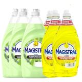 Pack 6 Lavaloza Magistral 750ml (3 Limon + 3 Aloe)
