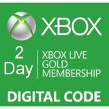 Xbox Live Gold 2 Dias -  Codigo Digital - Webpay