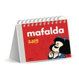 Calendario Escritorio 2019 Mafalda Rojo