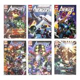 6 Comics Marvel Avengers