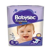 Pack 4 Paquetes Pañal Babysec® Elige Tamaño(p M G Xg Xxg)