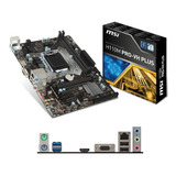 Placa Madre Msi H110 Pro Vh 1151 Intel Mother - Compuelite