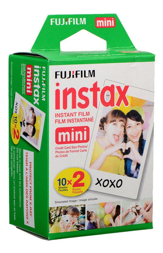 Recarga 20 Películas Instantáneas Instax Mini