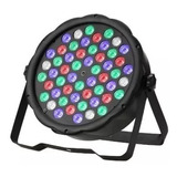Oferta! Foco Par Led 54 Dmx  Brillo Rgb Disco Fiesta Luces
