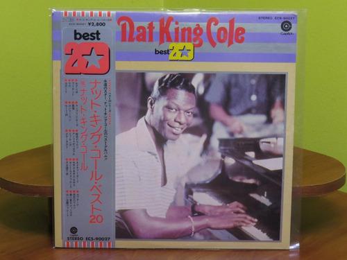 Nat King Cole - Best 20 - Vinilo Lp Ed. Japan + Obi 1975
