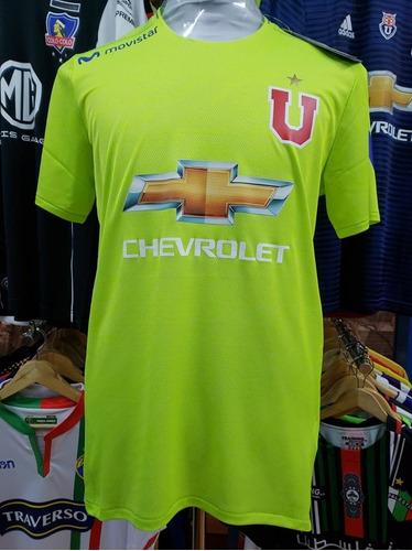 Camiseta U De Chile Arquero 2018 Verde 25 Herrera adidas e321e87ae011d