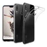 Carcasa Gel Silicona Huawei P20 Lite + Lamina