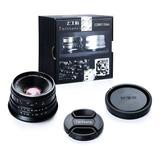 Lente 25mm F1.8 | 7artisans | Para Sony Montura E | Manual.