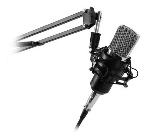 Kit Microfono Streaming +antipop+soporte+stand - Revogames