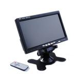 Monitor Lcd Color 7 Pulgadas Doble Entrada Video / Zofree