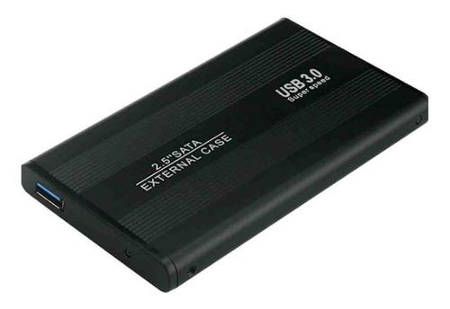 Cofre Case Para Disco Duro Sata 2.5 Usb 3.0 Hdd Notebook
