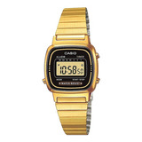 Reloj Mujer Casio La670 Dorado Vintage Original / Lhua Store