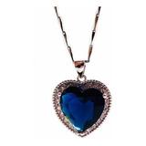 Collar Corazón Del Océano Titanic Plata 925 Caja + Envío