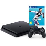 Consola Playstation Ps4 Slim 500gb + Fifa 19 - Sniper Game