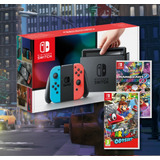 Nintendo Switch +mica+ Mario Kart +m. Odyssey // Huamansales