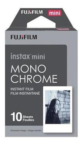 Papel Instantáneo Instax Mini Film Monochrome | 10 Films