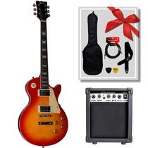 Guitarra Eléc. Queen Slpp380 Tipo Les Paul + Amp. Scorp. G15