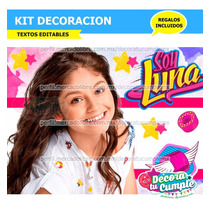 Kits Imprimibles Soy Luna Con Los Mejores Precios Del Chile