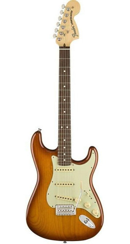 Guitarra Fender Stratocaster American Performer Honey Burst