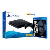 Consola Ps4 Slim 500gb + The Last Of Us Part 2 - Mundojuegos