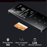 8gb Hifi Mp3 Mp4 Reproductor Bluetooth Pérdida Grabación Plu
