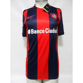 09a207b5a Camiseta San Lorenzo Almagro 2016 Nike Local Azul/rojo Nueva