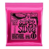 Cuerdas Guitarra Eléctrica Ernie Ball Super Slinky 9-42