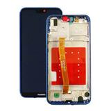 Pantalla Huawei P20 Lite Marco Negro Rosado Azul / Envío Gra