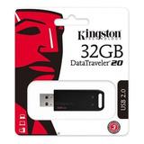 Pendrive Kingston Datatraveler 20 | 32gb | Scmaycam.cl