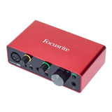 Focusrite Scarlett Solo 3gen Interfaz Audio
