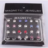 Aros Iman Magneticos Sin Perforación 6mm (precio Por Par)