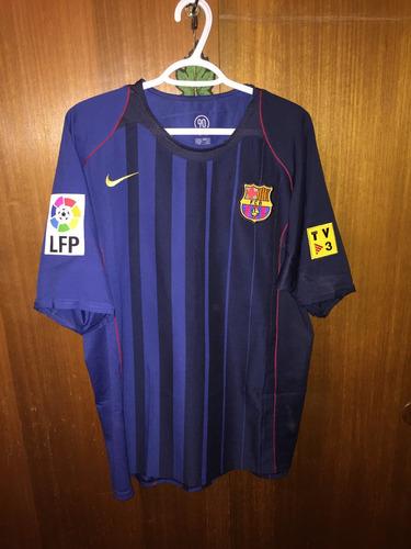 Camiseta Barcelona 2004-2005 Equipacion Alternativa f61a256ec3e