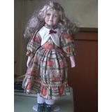 Preciosa Muñeca De Porcelana.