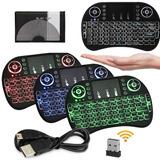 Pack2 Mini Teclado Inalámbrico Para Smartv Tvbox 3colores