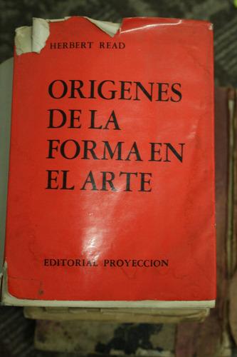 Libros antiguos origenes de la forma en el arte herbert - Libros antiguos valor ...