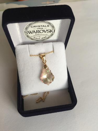 b2b479a513 Joyas Collar Cristal Swarovski Oro Goldfilled 14k
